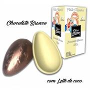 Ovos de páscoa BRANCO Ouro Moreno