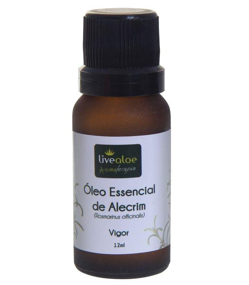 Livealoe - ÓLEO ESSENCIAL DE ALECRIM