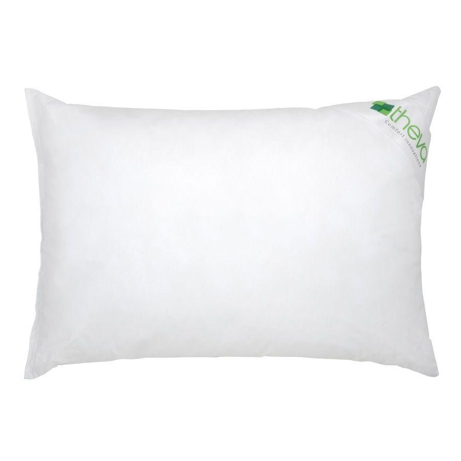 Travesseiro de Plumas Sintéticas Bestpluma Theva 50cm X 70cm