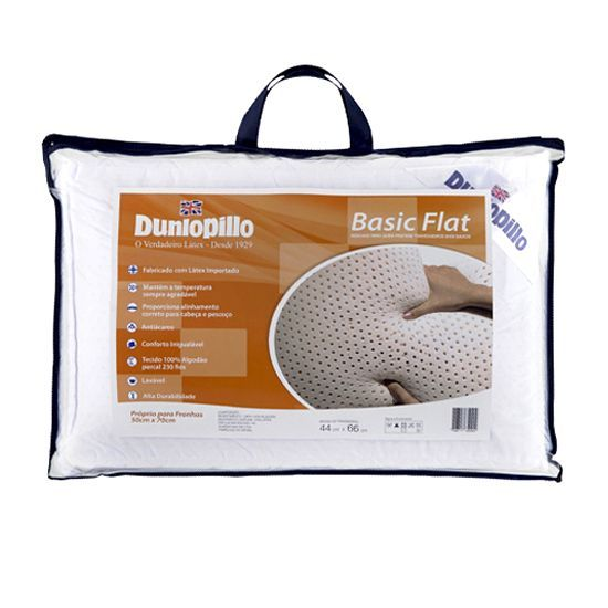 Travesseiro Dunlopillo Látex