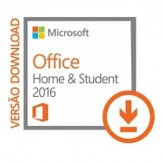 Licença Office 2016 Home and Studant RTM Vitalícia 1 PC ou notebook