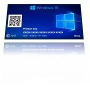 Windows  10 Home  32 / 64 bits  Cartão Licença  Fpp
