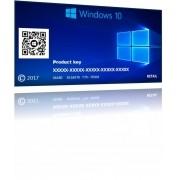 Windows  10 Pro  32 / 64 bits  Cartão Licença  Fpp