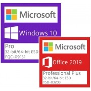 WINDOWS 10 PRO E OFFICE 2019 Pro Plus ESD Digital Fpp