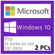 Windows 10 Pro ESD Retail Download para  2 Pcs