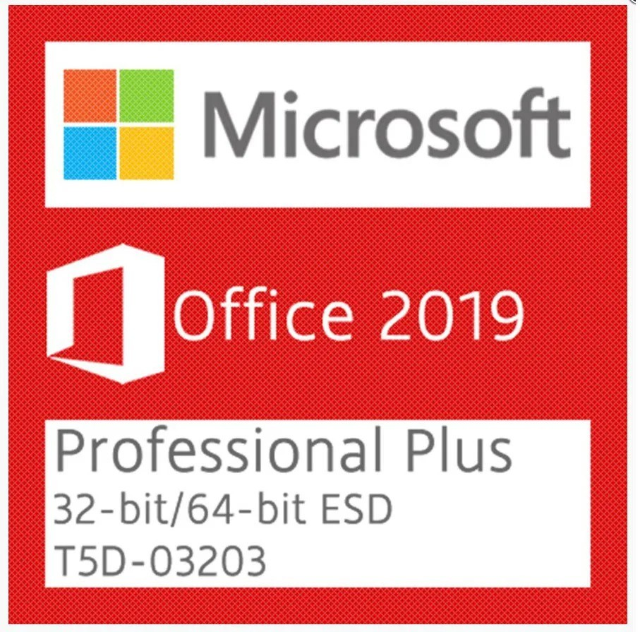 Microsoft OFFICE 2019 PRO PLUS Digital - 2 PCs