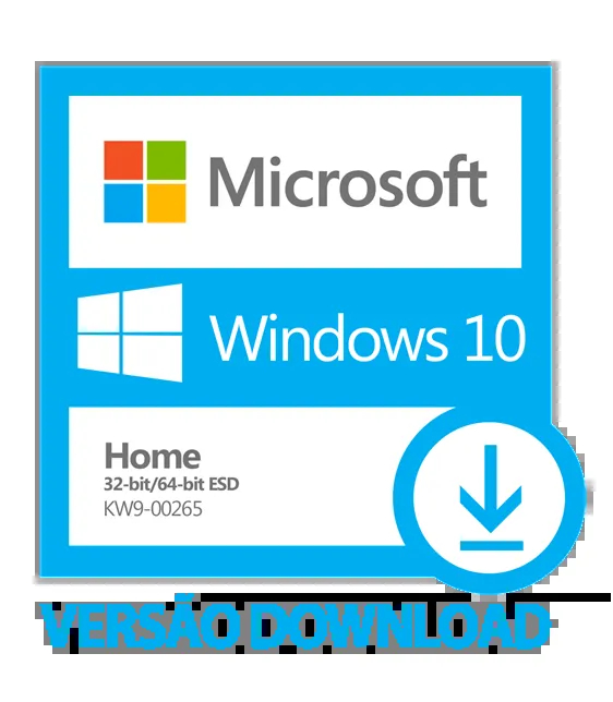 Windows 10 HOME ESD Retail FPP  32 64 bits