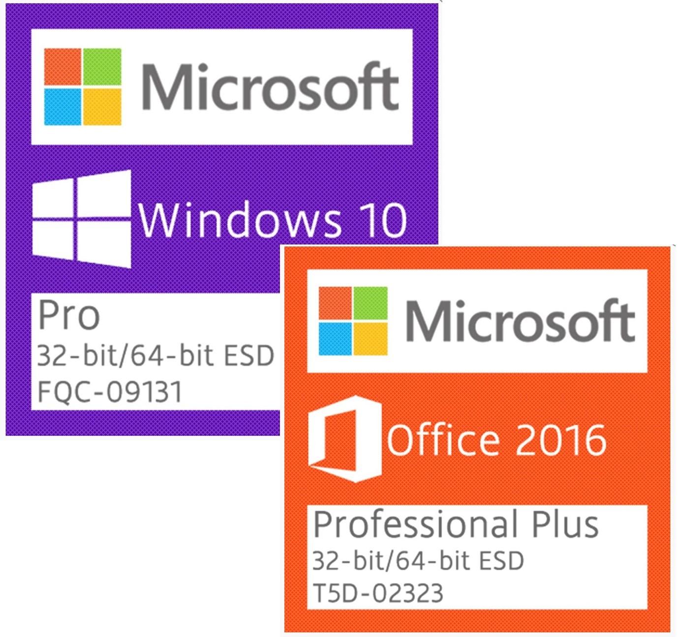 WINDOWS 10 PRO OFFICE 2016 PRO PLUS Versão Download
