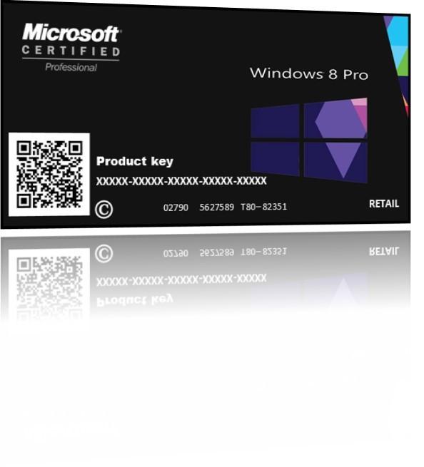 WINDOWS 8.1 Pro PT BR  Cartão Chave