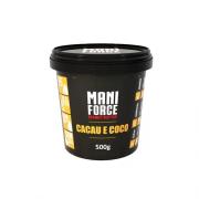 Pasta de Amendoim Integral Com Cacau E Coco 500g