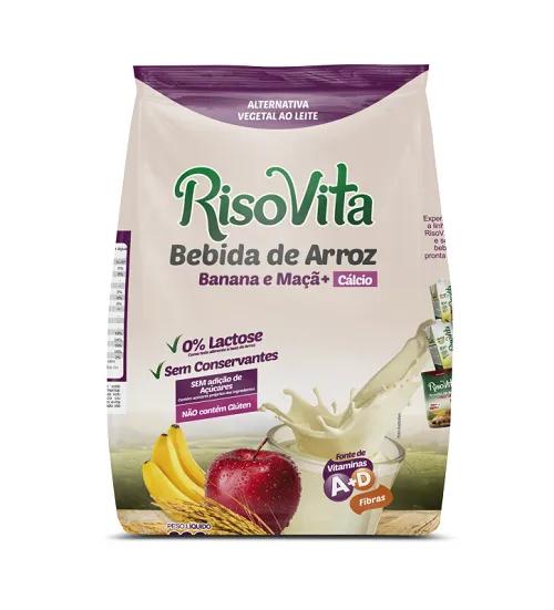 Bebida de Arroz em Pó Banana e Maça 300g - RisoVita