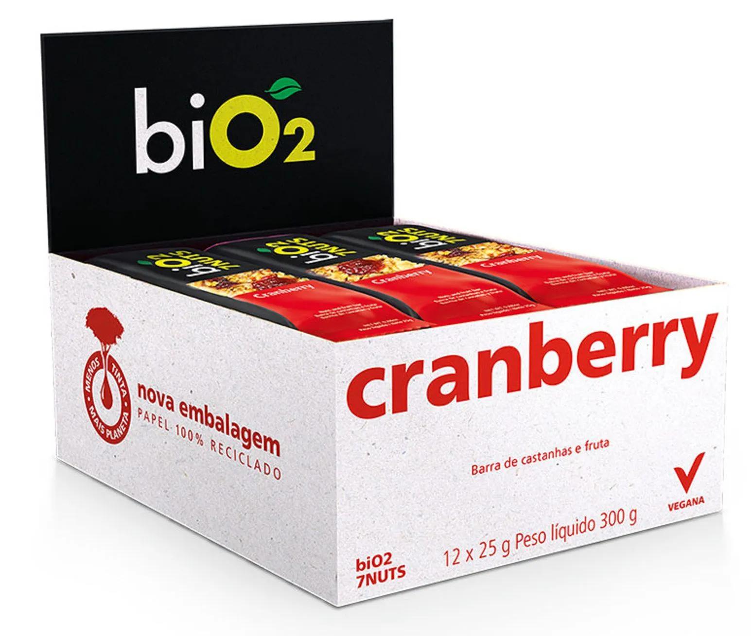 Bio2 7Nuts Castanhas e Cranberry 12x 25g