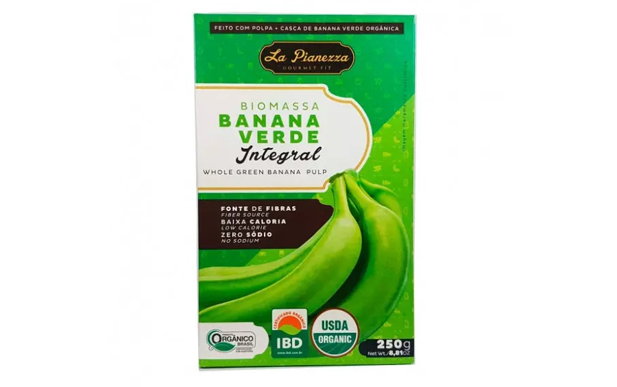 Biomassa De Banana Verde Orgânica Integral La Pianezza