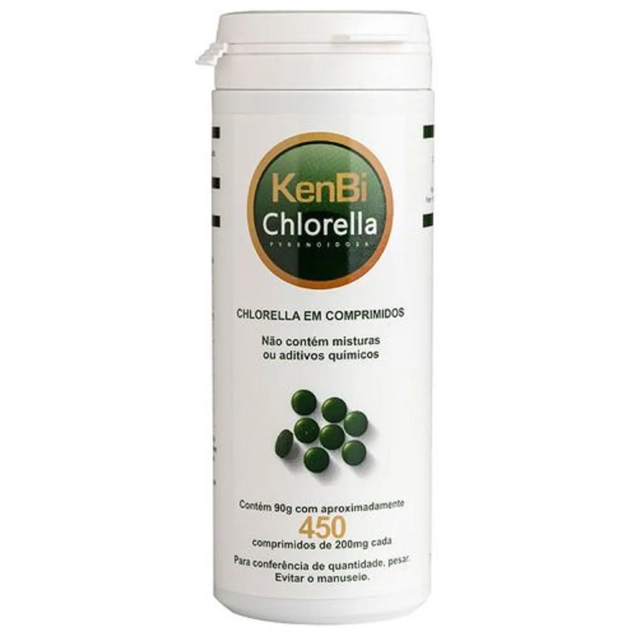 Chlorella Capsula 450 Comprimidos - Kenbi
