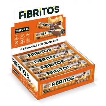 Fibritos Castanha c/ Chocolate 15x 25g