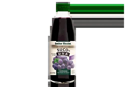 Suco de Uva Integral Sem Açúcar Senhor Viccino