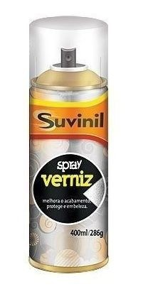 02 Tinta Spray Verniz Natural Fosco Suvinil Arte, Automotivo