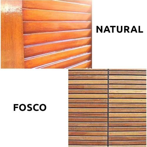 03 Tinta Spray Verniz Natural + 03 Tinta Spray Verniz FOSCO