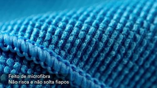 05 Super Pano De Chão 49x59cm Schoth-brite Azul 3m