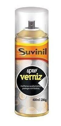 05 Tinta Spray Verniz Natural Brilh. Suvinil Arte,automotivo