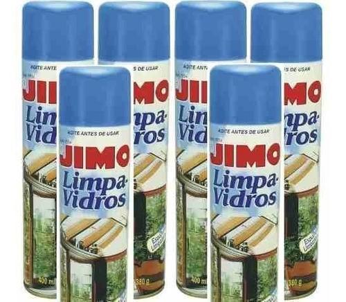 06 Jimo Limpa Vidros Aerossol Para-brisa, Vitrines, Espelhos