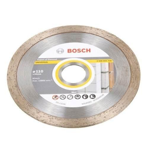 Disco Diamantado Universal 110 X 20 Mm Bosch
