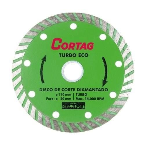 Disco Diamantado Turbo Eco Cortag