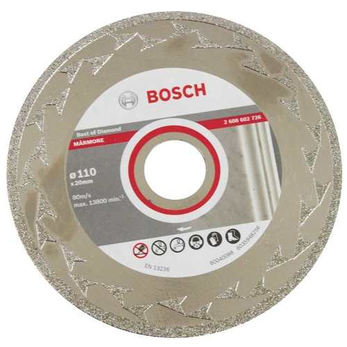 Disco Diamantado Mármore 110 X 20 Mm Bosch