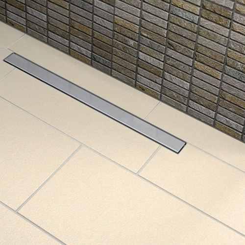 Ralo Linear Banheiros 50cm Tigre Grelha Inox