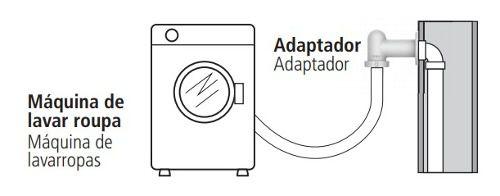 Adaptador Para Máquina De Lavar Roupa Tigre