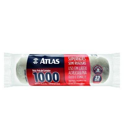Rolo Lã 23cm Ref 1000 S/ Cabo Atlas
