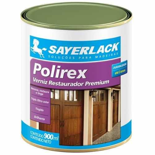 Verniz P/ Madeira Mogno Brilhante Polirex 900ml Sayerlack