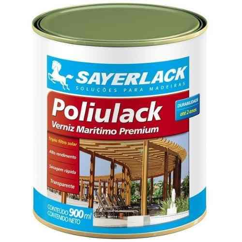 Verniz Maritimo Madeira Poliulack Brilhante 220ml Sayerlack