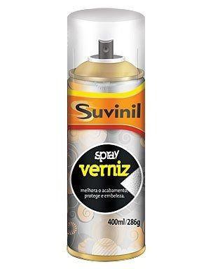 **05 Tinta Spray Verniz Natural Brilh. Suvinil Arte,automotivo