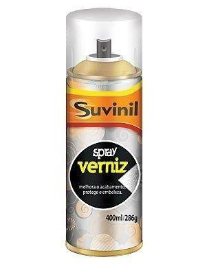 **03 Tinta Spray Verniz Natural Fosco Suvinil Arte, Automotivo