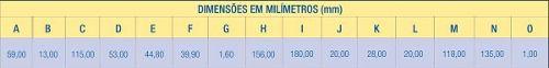 Fechadura Escovada Premium 40mm Banheiro 4153 Av Aliança