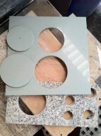 Serra Copo 75mm Longa Concreto Alvenaria Granito Cortag