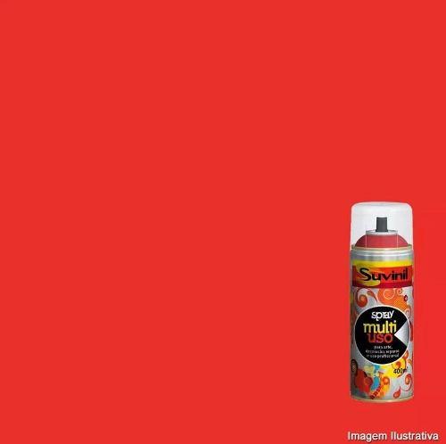 Tinta Spray Multiuso Vermelho Brilhante 400ml Suvinil