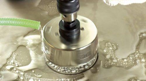 Serra Copo Diamantada 76mm Piso Granito Porcelanato Cortag
