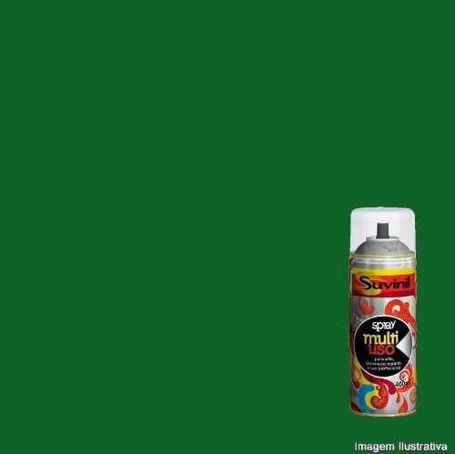 Tinta Spray Multiuso Verde Folha Brilhante 400ml Suvinil