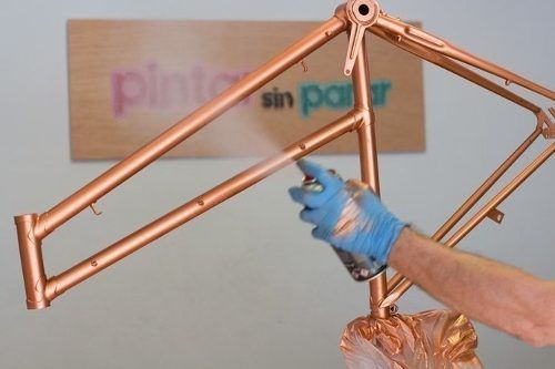 Tinta Spray Multiuso Azul Del Rey Brilhante 400ml Suvinil