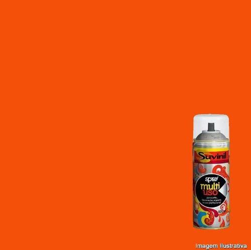 Tinta Spray Multiuso Laranja Brilhante 400ml Suvinil