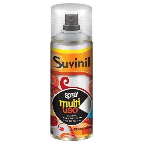 Tinta Spray Multiuso Cinza Brilhante 400ml Suvinil