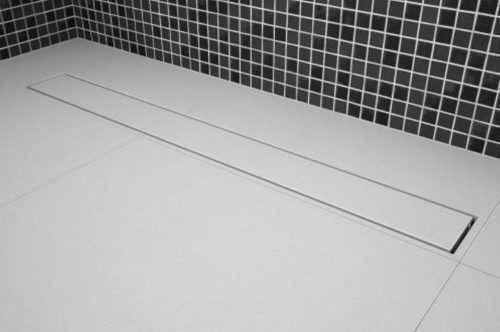 **Kit 03 Ralo Linear Oculto Invisível 70cm Tigre Banheiro