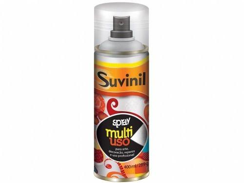 Tinta Spray Multiuso Grafite Metálico 400ml Suvinil