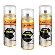 03 Tinta Spray Verniz Natural Fosco Suvinil Arte, Automotivo