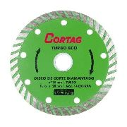 Disco Diamantado Turbo Eco Cortag