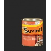 Tinta Esmalte Madeira Metal Preto Brilhante Suvinil 225ml