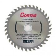 Disco De Serra Corte Madeira Mdf 36dentes 110x20mm Cortag