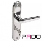 Fechadura Zamac Banheiro 40mm Concept Esp 403b Cr - Pado
